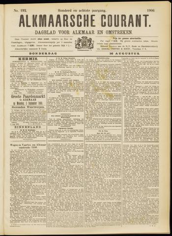 Alkmaarsche Courant 1906-08-16