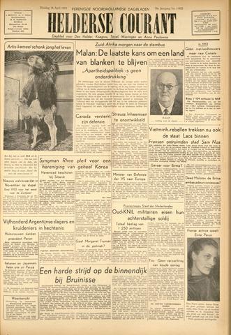 Heldersche Courant 1953-04-14