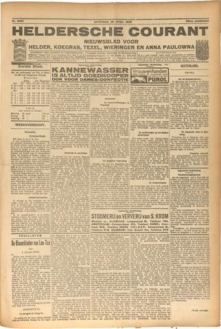 Heldersche Courant 1928-04-28