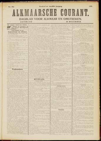 Alkmaarsche Courant 1910-12-24