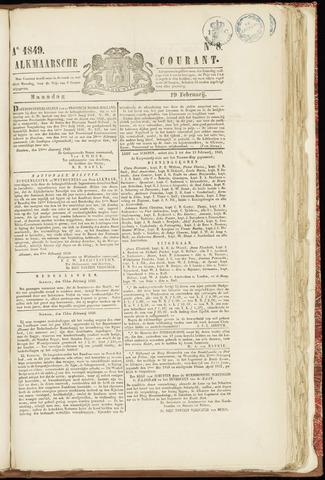 Alkmaarsche Courant 1849-02-19