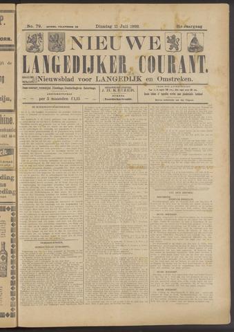 Nieuwe Langedijker Courant 1922-07-11