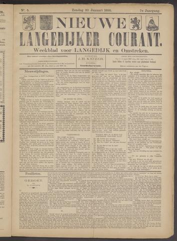 Nieuwe Langedijker Courant 1898-01-30