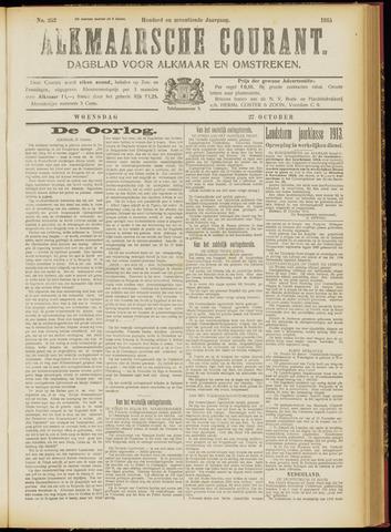 Alkmaarsche Courant 1915-10-27