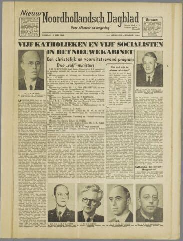 Nieuw Noordhollandsch Dagblad : voor Alkmaar en omgeving 1946-07-02