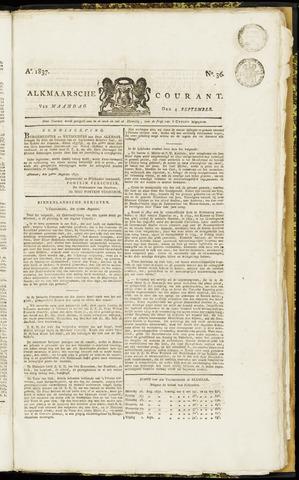 Alkmaarsche Courant 1837-09-04