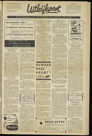 Uitkijkpost : nieuwsblad voor Heiloo e.o. 1961-04-27