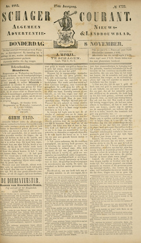 Schager Courant 1883-11-08