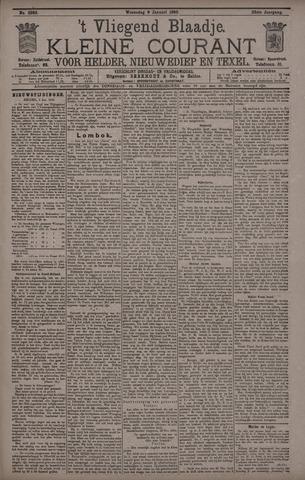 Vliegend blaadje : nieuws- en advertentiebode voor Den Helder 1895-01-09
