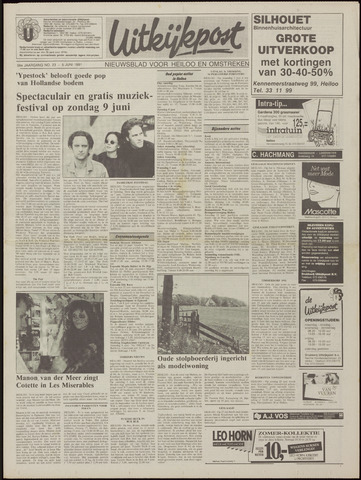 Uitkijkpost : nieuwsblad voor Heiloo e.o. 1991-06-05