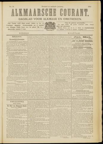 Alkmaarsche Courant 1914-01-20