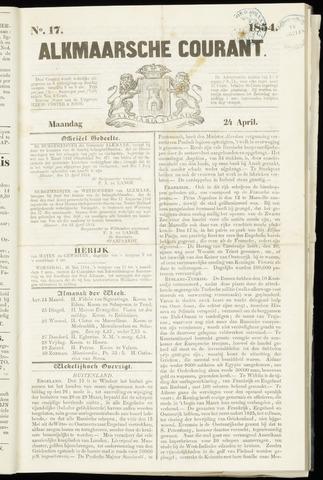 Alkmaarsche Courant 1854-04-24