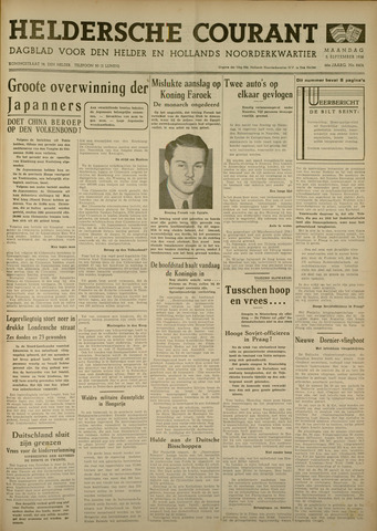 Heldersche Courant 1938-09-05