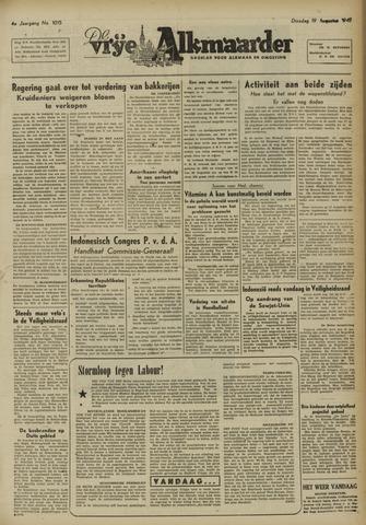 De Vrije Alkmaarder 1947-08-19