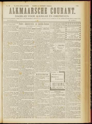 Alkmaarsche Courant 1918-04-13