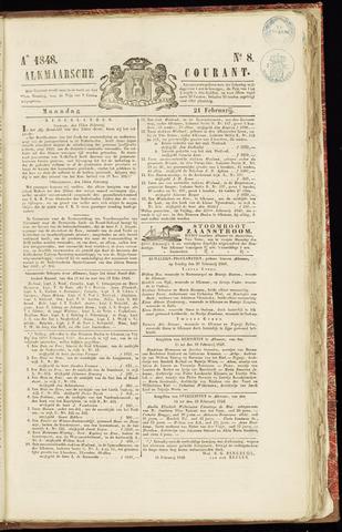 Alkmaarsche Courant 1848-02-21