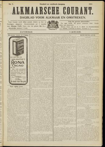 Alkmaarsche Courant 1912-01-06