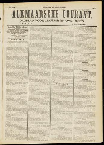 Alkmaarsche Courant 1912-11-02