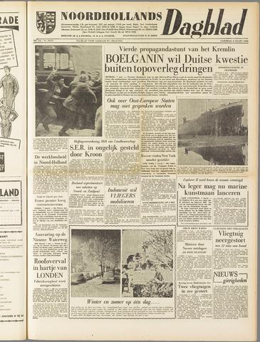 Noordhollands Dagblad : dagblad voor Alkmaar en omgeving 1958-03-08