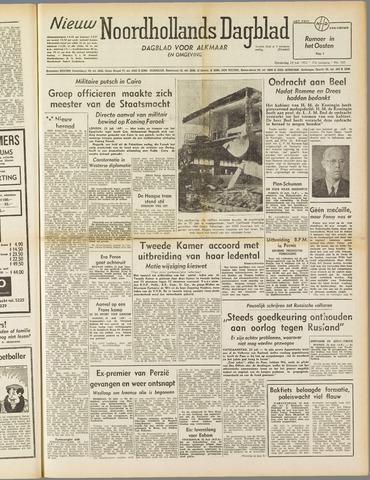 Nieuw Noordhollandsch Dagblad : voor Alkmaar en omgeving 1952-07-24