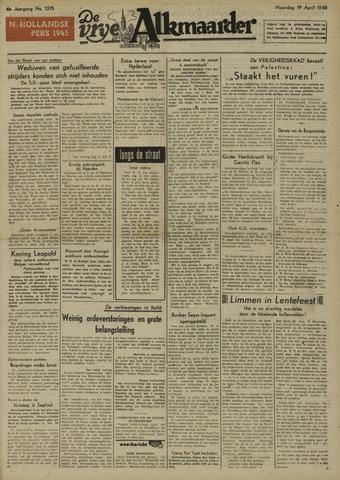 De Vrije Alkmaarder 1948-04-19