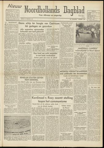 Nieuw Noordhollandsch Dagblad : voor Alkmaar en omgeving 1948-02-10