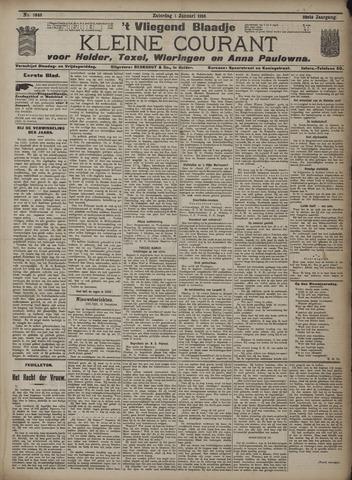 Vliegend blaadje : nieuws- en advertentiebode voor Den Helder 1910-01-01