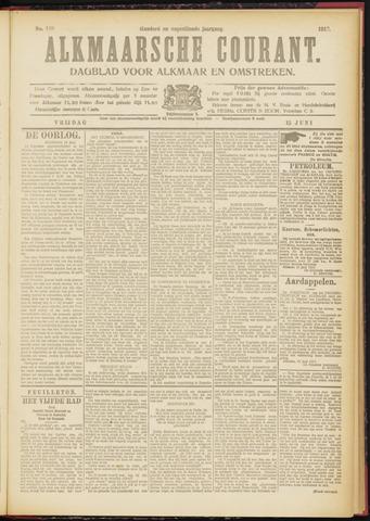 Alkmaarsche Courant 1917-06-15