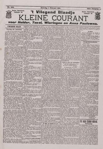 Vliegend blaadje : nieuws- en advertentiebode voor Den Helder 1904-02-06
