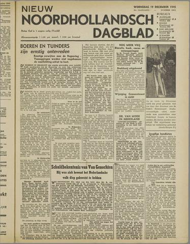 Nieuw Noordhollandsch Dagblad : voor Alkmaar en omgeving 1945-12-19