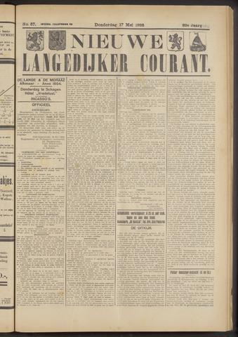 Nieuwe Langedijker Courant 1923-05-17