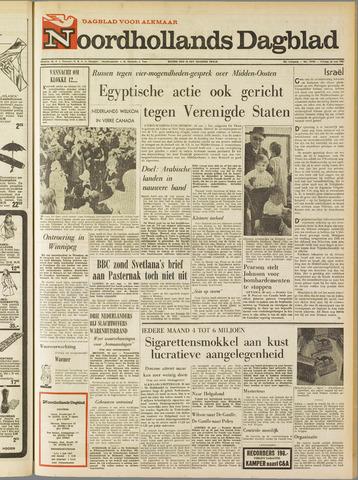 Noordhollands Dagblad : dagblad voor Alkmaar en omgeving 1967-05-26