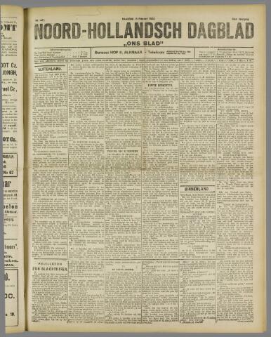Ons Blad : katholiek nieuwsblad voor N-H 1922-02-13