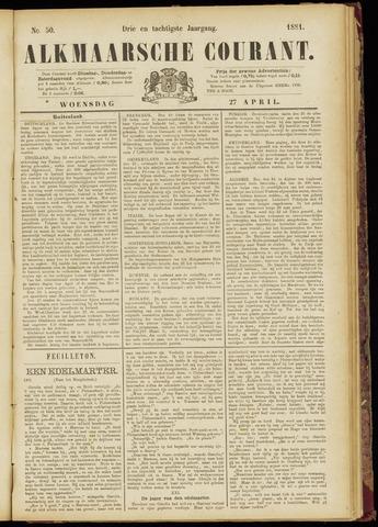 Alkmaarsche Courant 1881-04-27