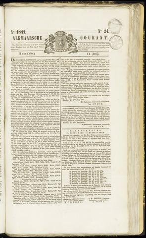 Alkmaarsche Courant 1841-06-14