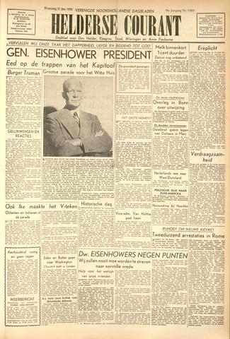 Heldersche Courant 1953-01-21