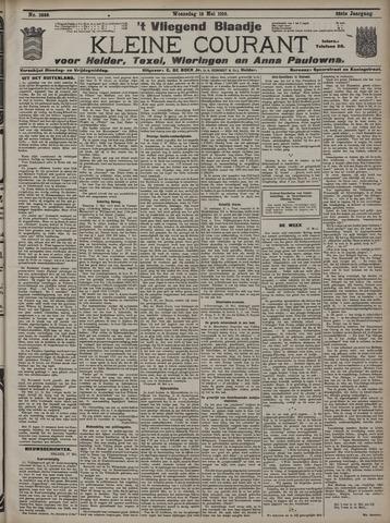 Vliegend blaadje : nieuws- en advertentiebode voor Den Helder 1910-05-18