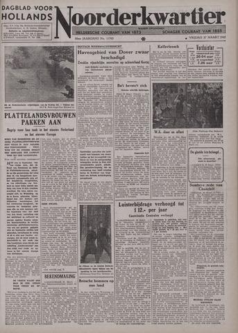Dagblad voor Hollands Noorderkwartier 1942-03-27