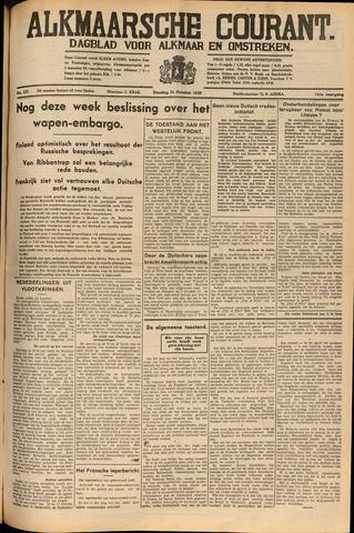 Alkmaarsche Courant 1939-10-24