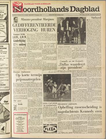 Noordhollands Dagblad : dagblad voor Alkmaar en omgeving 1963-11-28