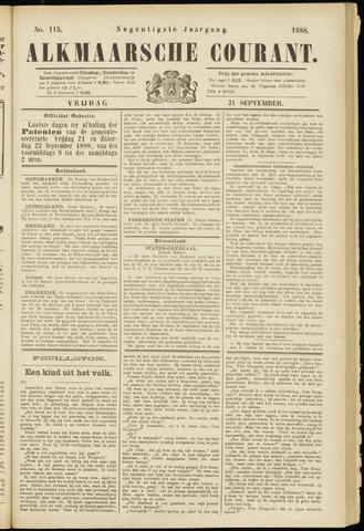 Alkmaarsche Courant 1888-09-21