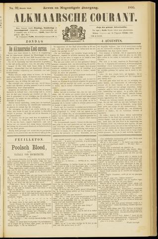 Alkmaarsche Courant 1895-08-04