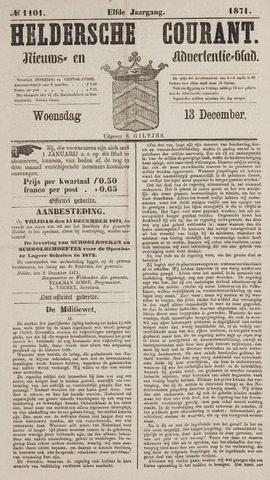 Heldersche Courant 1871-12-13