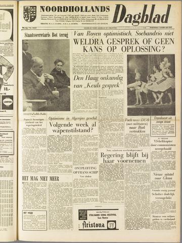 Noordhollands Dagblad : dagblad voor Alkmaar en omgeving 1962-02-07