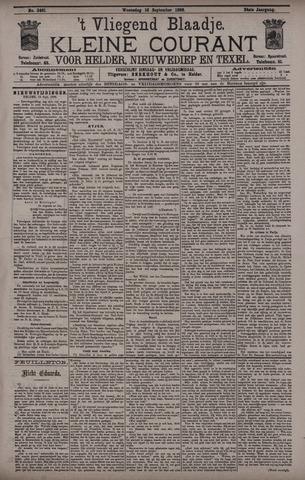 Vliegend blaadje : nieuws- en advertentiebode voor Den Helder 1896-09-16