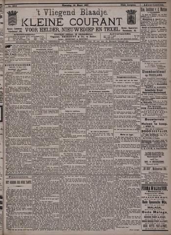 Vliegend blaadje : nieuws- en advertentiebode voor Den Helder 1897-03-24
