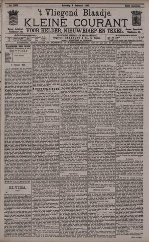 Vliegend blaadje : nieuws- en advertentiebode voor Den Helder 1897-02-06