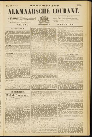 Alkmaarsche Courant 1898-02-11