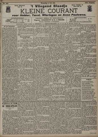 Vliegend blaadje : nieuws- en advertentiebode voor Den Helder 1906-07-11