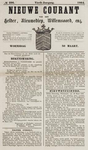 Nieuwe Courant van Den Helder 1864-03-30